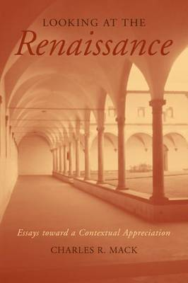 Looking at the Renaissance: Essays Toward a Contextual Appreciation
