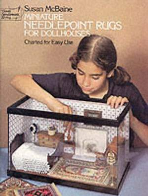 Miniature Needlepoint Rugs for Dolls Houses