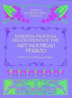 Borders, Frames and Decorations of the Art Nouveau Period
