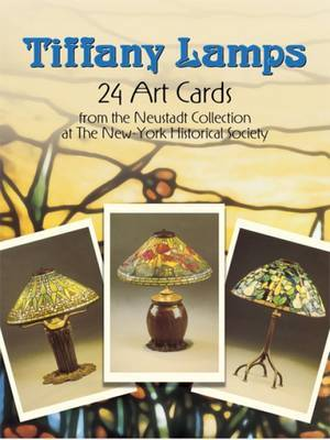 Tiffany Lamps: 24 Art Cards