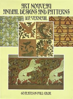 Art Nouveau Animal Designs and Patterns: 60 Plates in Full Color