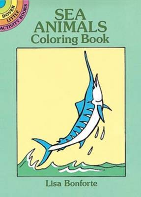 Sea Animals Colouring Book