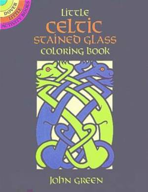 Little Celtic Stained Glass Colouring Book