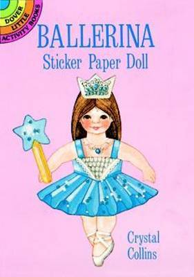 Ballerina Sticker Paper Dolls: Dover Little Activity Books