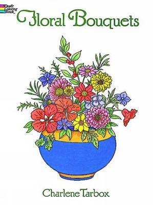 Floral Bouquets Colouring Book