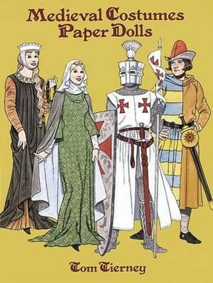Medieval Coustumes Paper Dolls