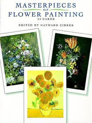 Masterpieces of Flower Painting: 24 Cards