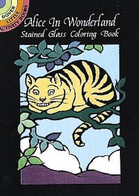 Alice in Wonderland Stained Glass C