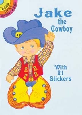 Jake Cowboy Sticker Doll