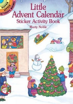 Advent Calendar Sticker Activity