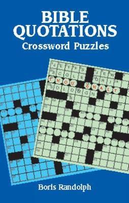 Bible Quotations Crossword Puzzles