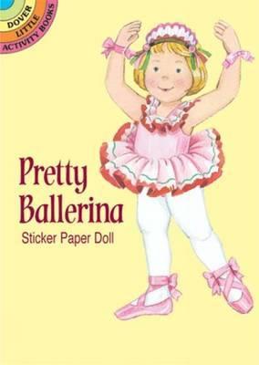 Pretty Ballerina Sticker Paper Doll