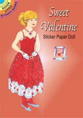 Sweet Valentine Sticker Paper Doll