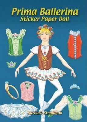 Prima Ballerina Sticker Paper Doll