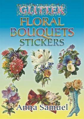 Glitter Floral Bouquets Stickers