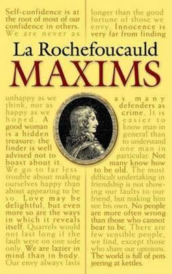 Maxims of La Rochefoucauld
