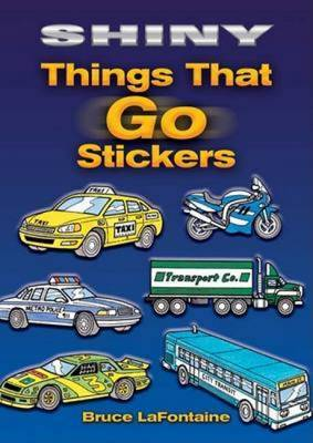 Shiny Things That Go Stickers