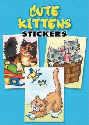 Cute Kittens Stickers: 36 Stickers, 9 Different Designs