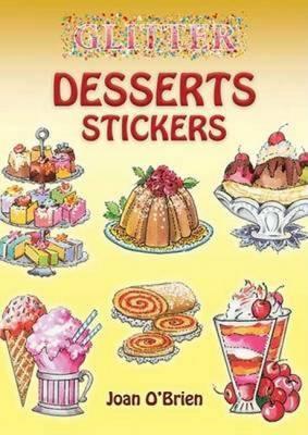 Glitter Desserts Stickers