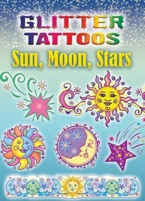 Glitter Tattoos Sun, Moon, Stars