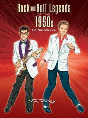 Rock and Roll Legends of the 1950s Paper Dolls