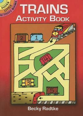 Trains Activity Book
