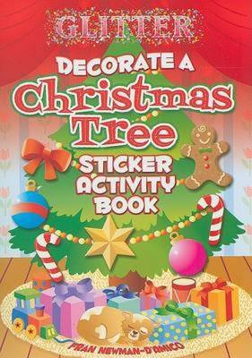 Glitter Decorate a Christmas Tree, Sticker Activity Book