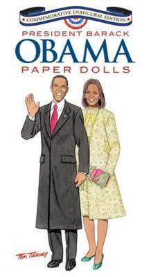 Barack Obama and His Family Paper Dolls: Inaugural Edition