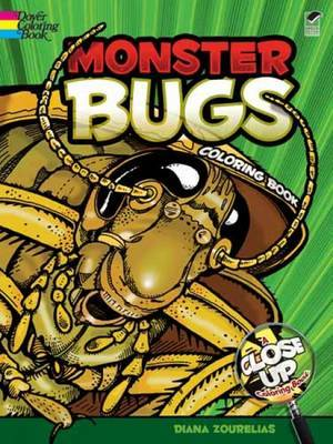 Monster Bugs: A Close-Up Coloring Book