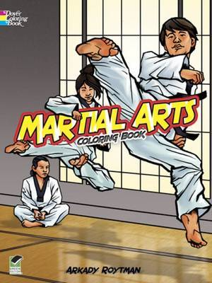 Martial Arts Coloring Book