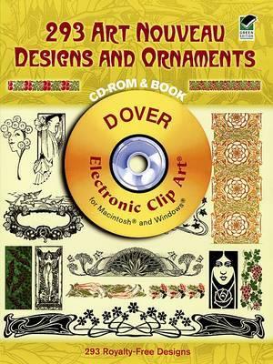 289 Art Noveau Designs and Ornaments
