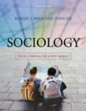 Sociology: Your Compass for a New World:  Paper Version