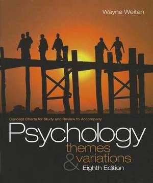 Concept Charts for Study and Review to Accompany Psychology: Themes & Variations