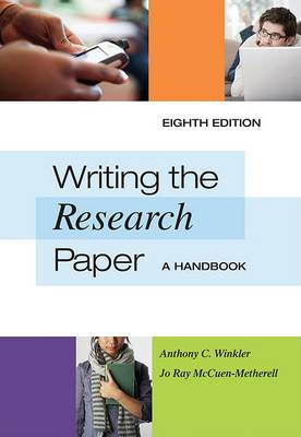 Writing the Research Paper: A Handbook, Spiral bound Version