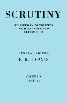 Scrutiny: A Quarterly Review: v. 2: 1941 - 1942