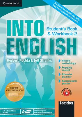 Into English Level 2 Student's Book and Workbook with Active Digital Book W/ Grammar and Vocab Maximiser W/ AudCD Ital Ed: Level 2