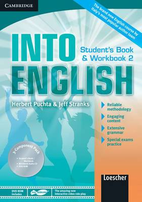 Into English Level 2 Student's Book and Workbook with Audio CD and DVD-ROM Italian Edition: Level 2