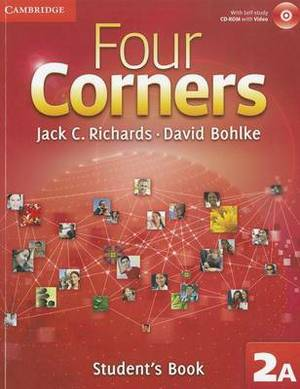 Four Corners Level 2 Student's Book a with Self-study CD-ROM