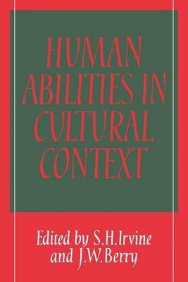 Human Abilities in Cultural Context