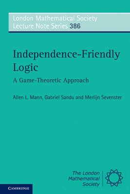 Independence-Friendly Logic: A Game-Theoretic Approach