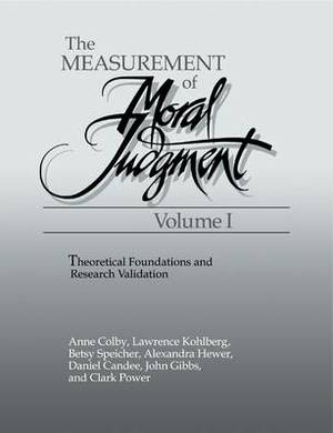 The Measurement of Moral Judgment