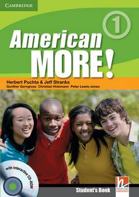 American More! Level 1 Student's Book with CD-ROM