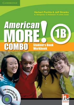 American More! Level 1 Student Book Combo B with Audio CD/CD-ROM