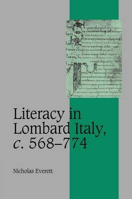 Literacy in Lombard Italy, C.568-774