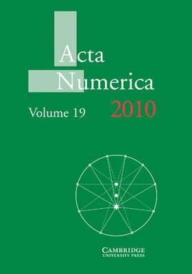 Acta Numerica 2010: Volume 19: 2010