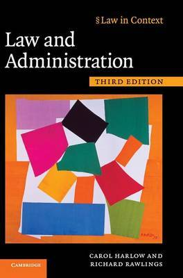 Law in Context: Law and Administration