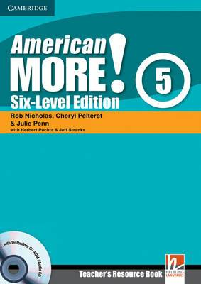 American More! Six-Level Edition Level 5 Teacher's Resource Book with Testbuilder CD-ROM/Audio CD