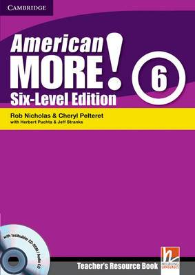American More! Six-Level Edition Level 6 Teacher's Resource Book with Testbuilder CD-ROM/Audio CD