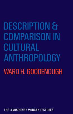 Description and Comparison in Cultural Anthropology