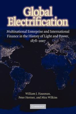 Cambridge Studies in the Emergence of Global Enterprise: Global Electrification: Multinational Enterprise and International Finance in the History of Light and Power, 1878-2007